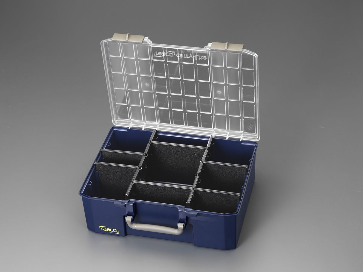 【メーカー在庫あり】 エスコ ESCO 413x330x147mm/外寸 トランク型ツールボックス 000012004977 JP店