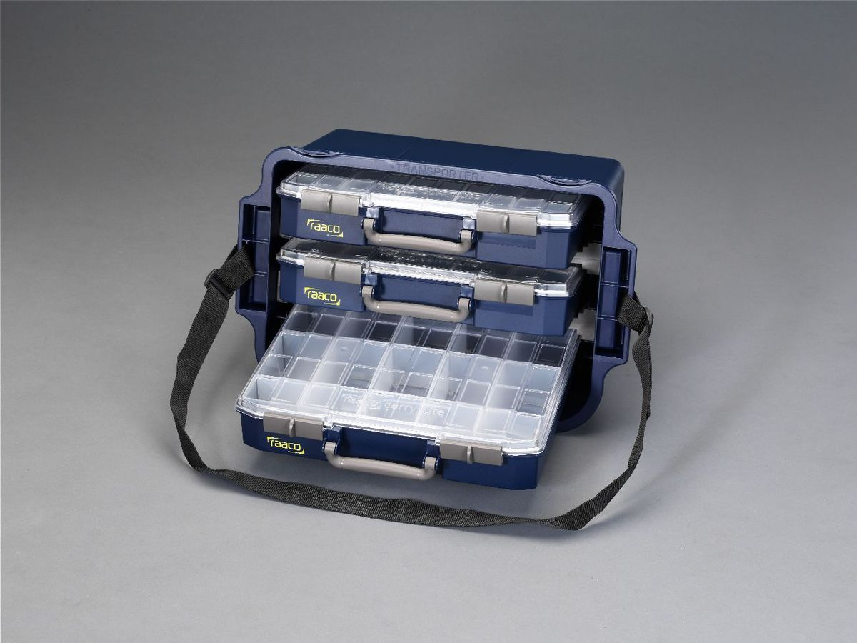 【メーカー在庫あり】 エスコ ESCO 250x562x361mm 3BOX トランスポーター 000012004976 JP