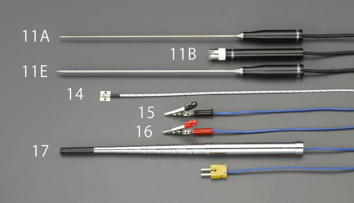 【メーカー在庫あり】 エスコ ESCO 表面用センサー(EA701BA-11用) 000012088036 JP店