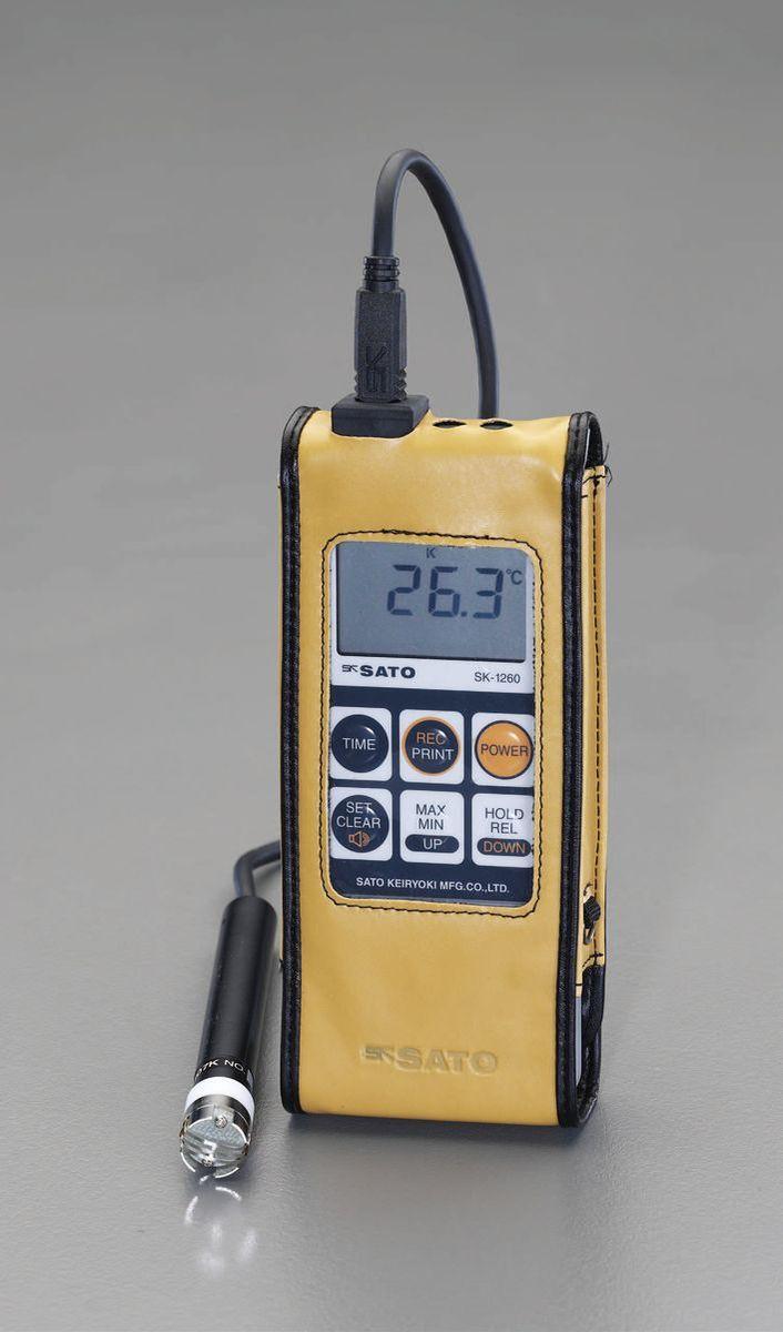 【メーカー在庫あり】 エスコ ESCO -30゜/+400℃ 防水型デジタル温度計 000012223210 JP店