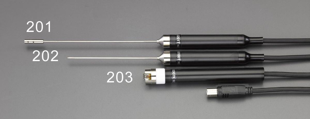 【メーカー在庫あり】 エスコ ESCO -30/400℃ 表面温度センサー(EA701SA-20用) 000012223213 JP店