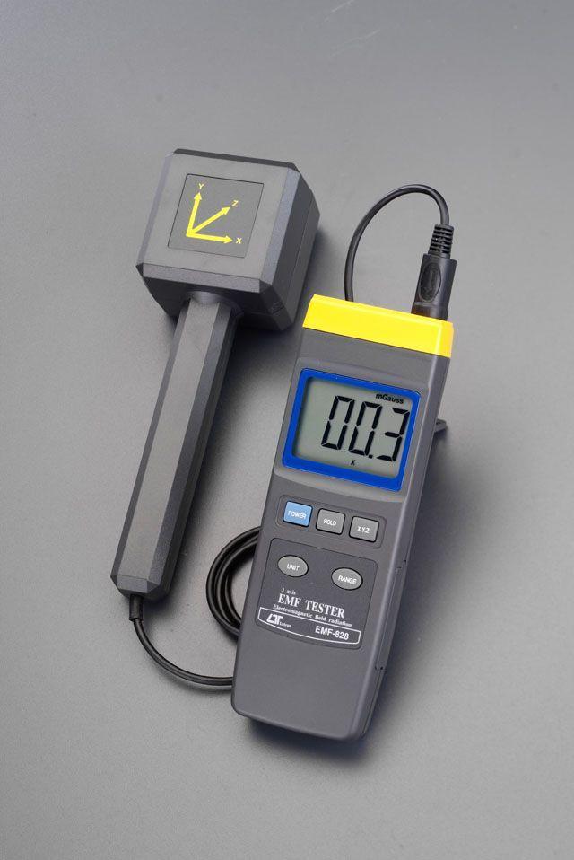 【メーカー在庫あり】 エスコ ESCO 電磁波測定器(3磁界) 000012088052 JP店