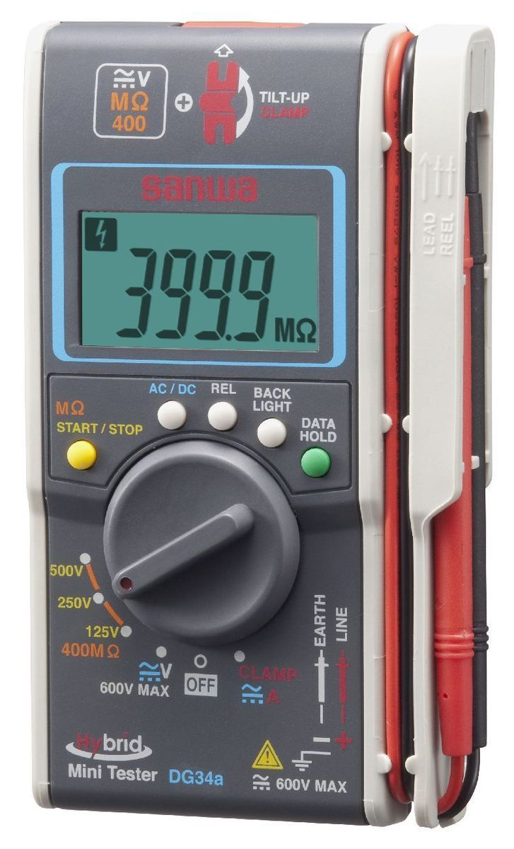 【メーカー在庫あり】 エスコ ESCO 複合型ポケットテスター(ケース付) 000012234881 JP店