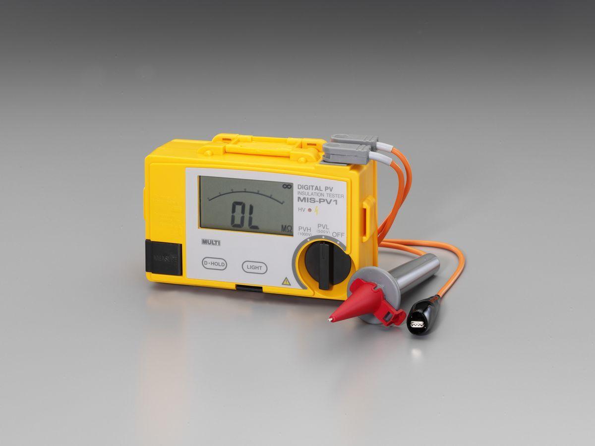【メーカー在庫あり】 エスコ ESCO 絶縁抵抗計(太陽電池パネル対応) 000012263696 JP店