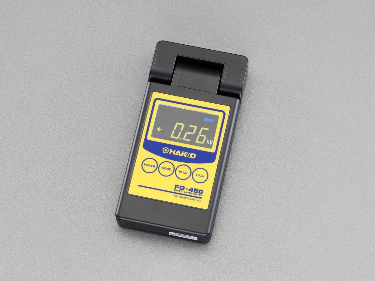 【メーカー在庫あり】 エスコ ESCO 静電気レベルメーター 000012252382 JP店