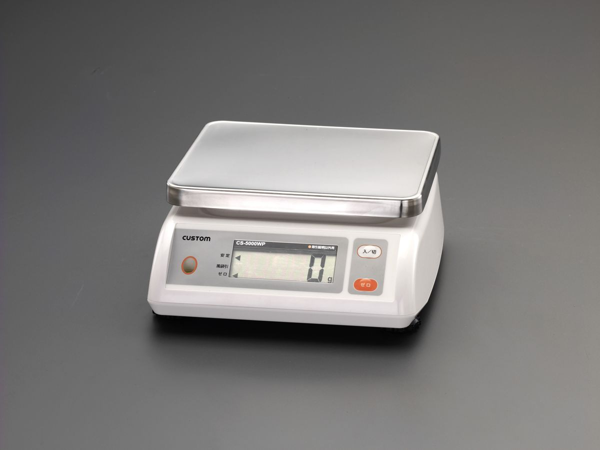 【メーカー在庫あり】 エスコ ESCO 2000g(1.0g) 防水デジタルはかり 000012250484 JP店