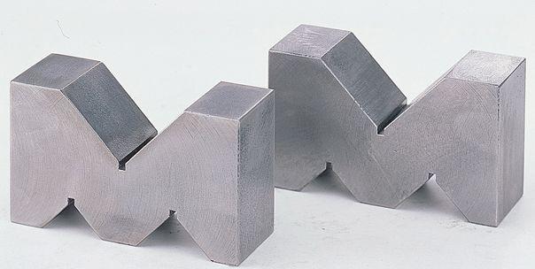 【メーカー在庫あり】 エスコ ESCO 125x 80x 50mm A型Vブロック(機械仕上) 000012079804 JP店