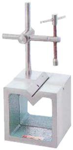 【メーカー在庫あり】 エスコ ESCO 100mm V溝付桝形ブロック 000012079823 JP店
