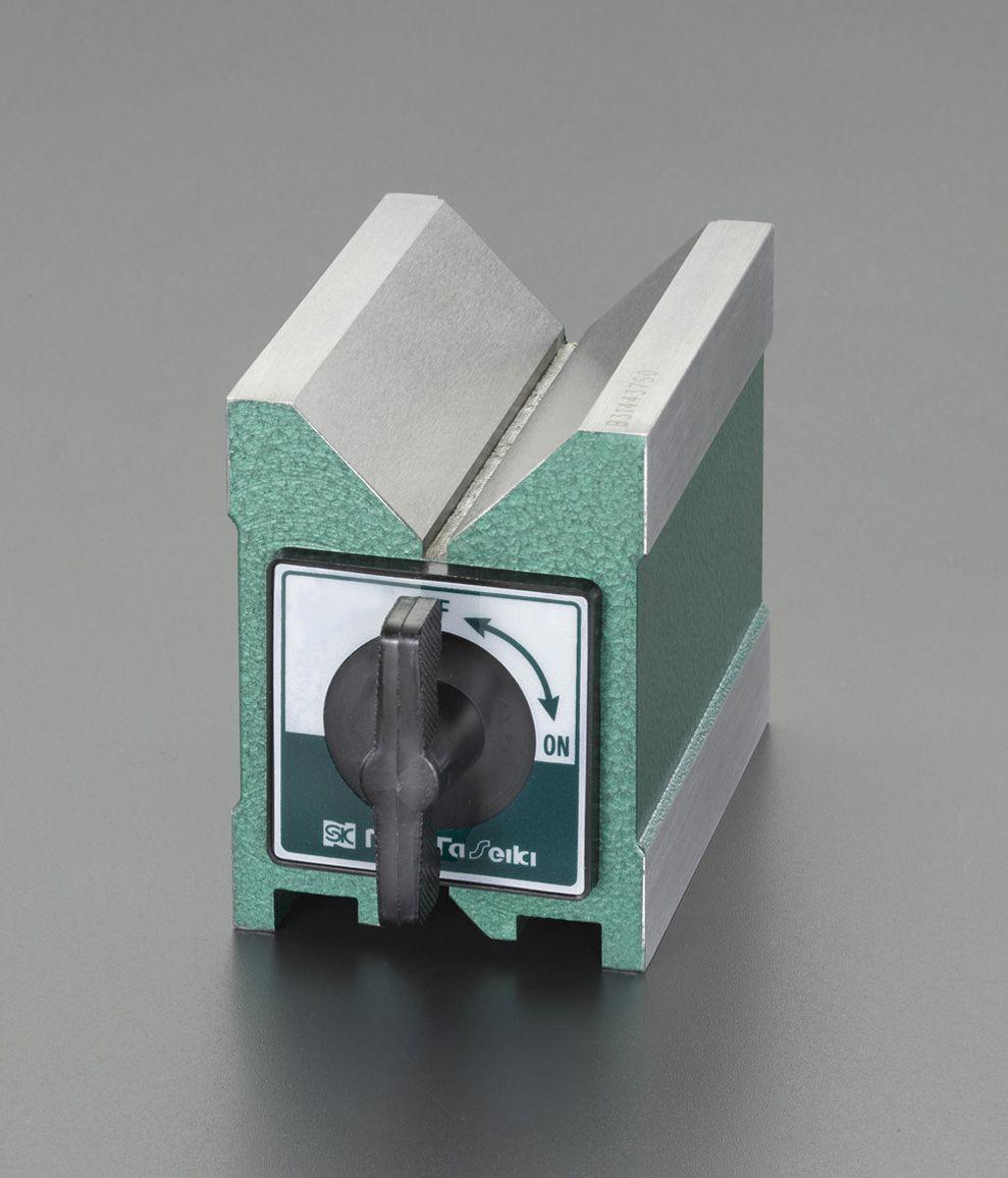 【メーカー在庫あり】 エスコ ESCO 95x70x 80mm マグネットVブロック 000012227849 JP店