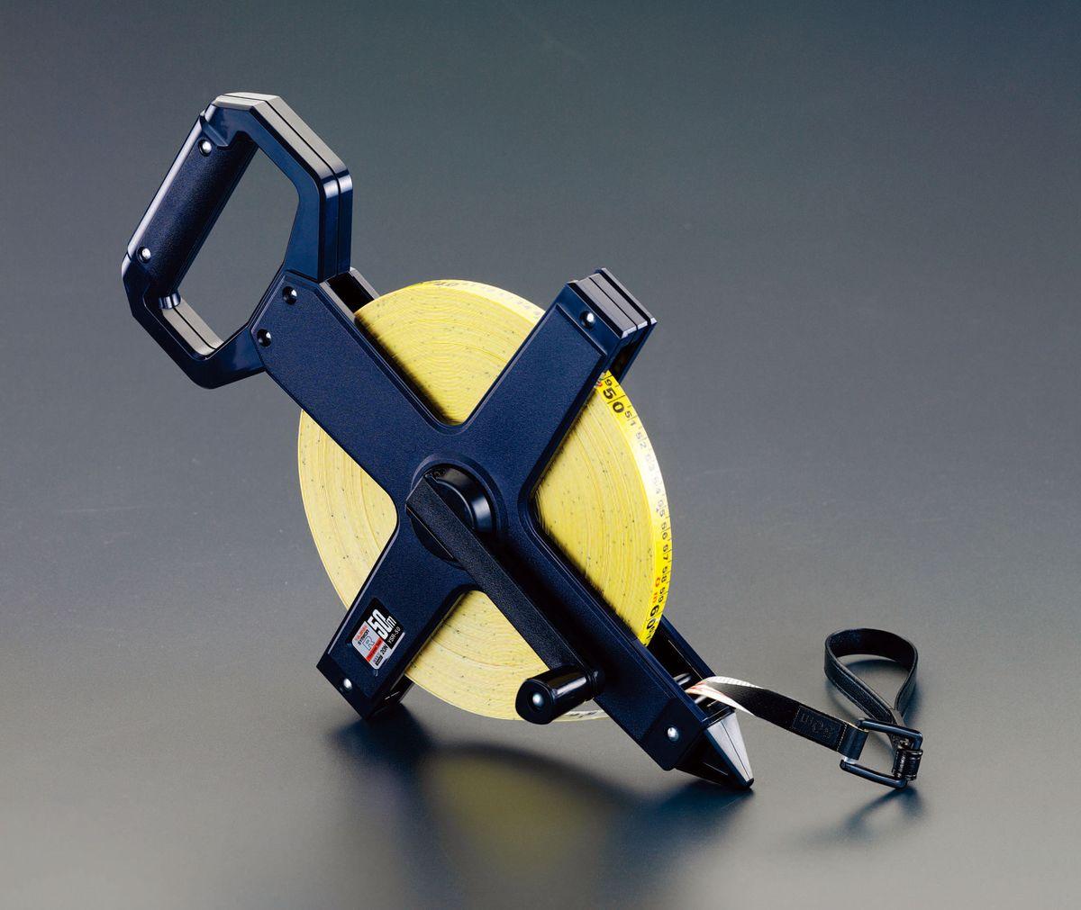 【メーカー在庫あり】 エスコ ESCO 13mmx100m 巻 尺(ファイバーグラステープ) 000012099991 JP店
