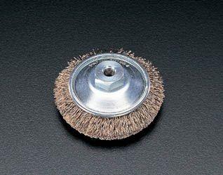メーカー在庫あり エスコ ESCO 85mm M10x1.5 ベベル型 春の新作 格安激安 JP ワイヤーブラシ 000012018013