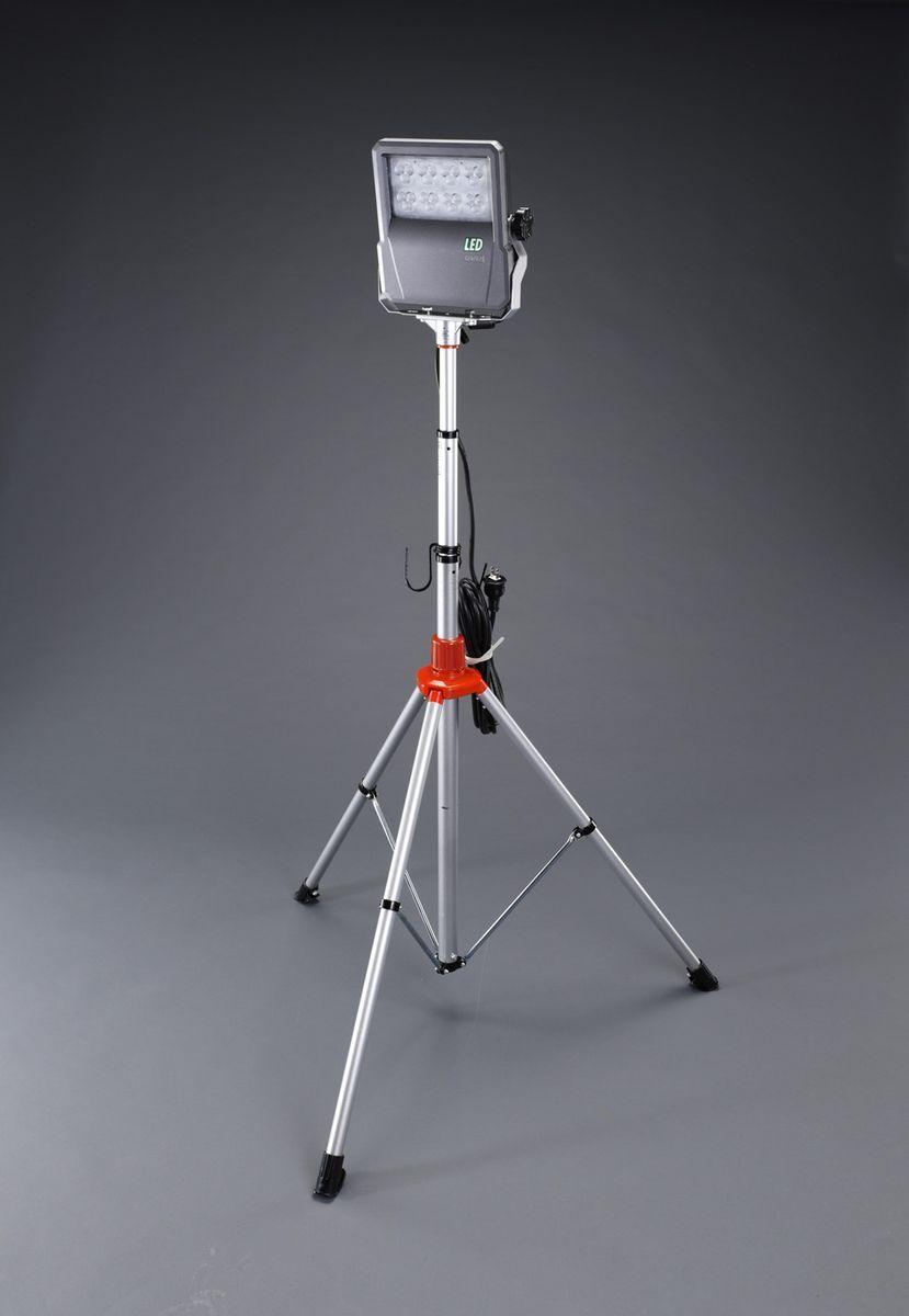 【メーカー在庫あり】 エスコ ESCO AC100V/60W 作業灯/LED コード5m/スタンド付 000012252460 JP店