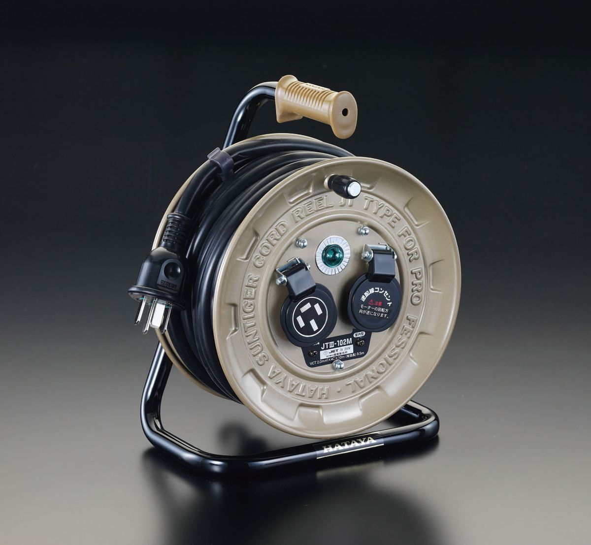 【メーカー在庫あり】 エスコ ESCO AC250V/19A/10m コードリール アース付 000012200914 JP店
