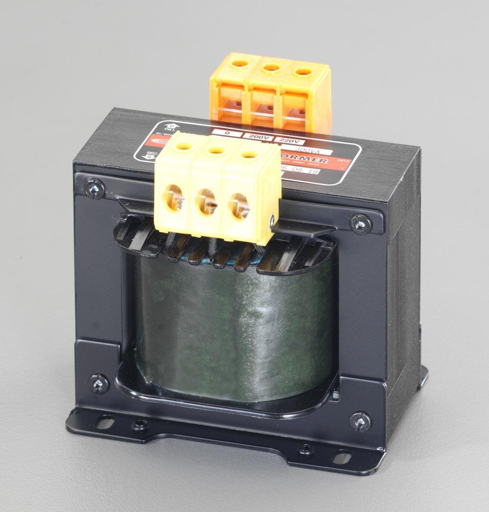 【メーカー在庫あり】 エスコ ESCO 200VA 電源トランス 000012049630 JP店