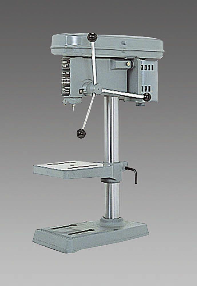 【メーカー在庫あり】 エスコ ESCO AC100V/200W 6.5mmチャック ボール盤 角テーブル 000012229238 JP店