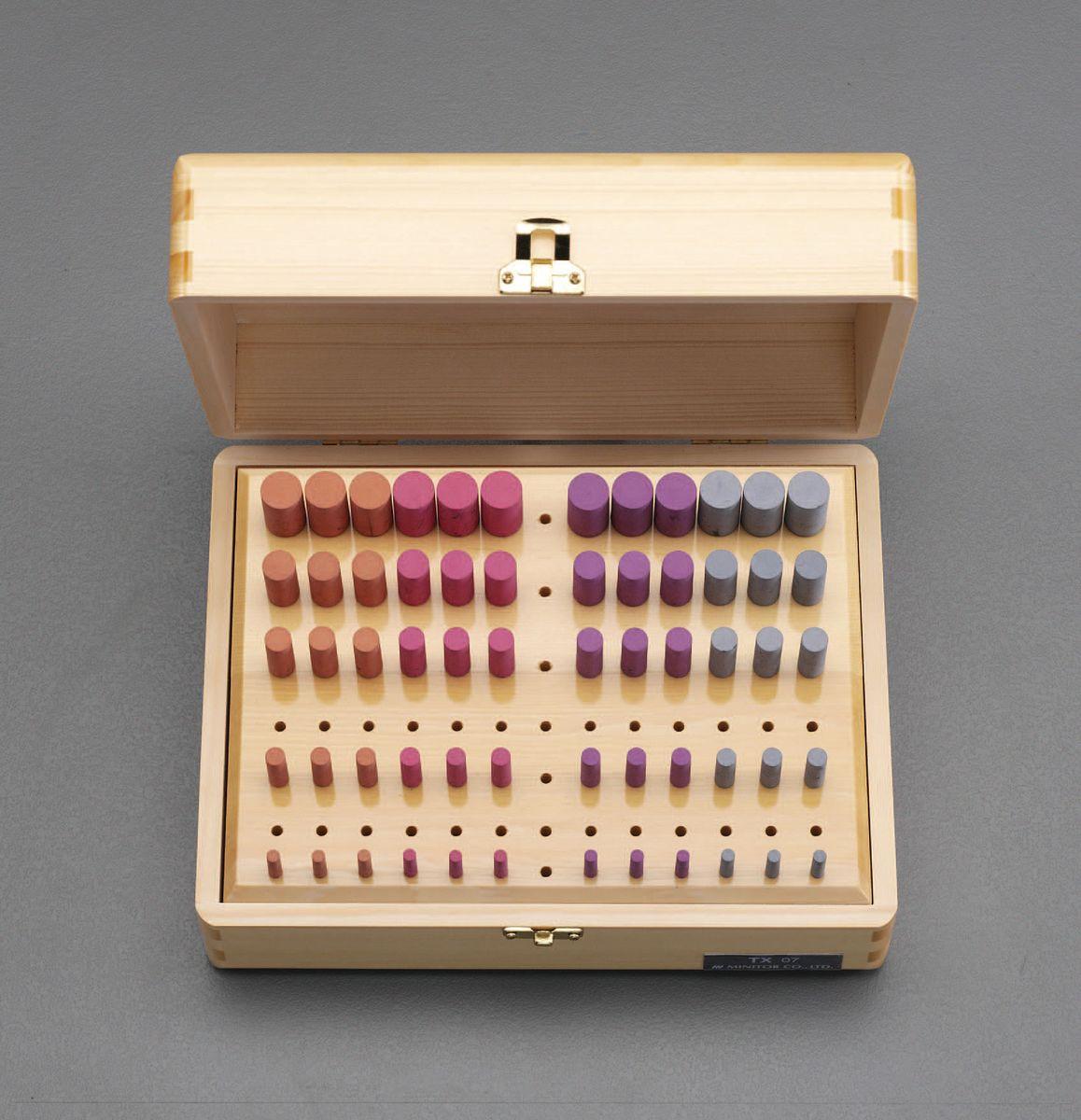 【メーカー在庫あり】 エスコ ESCO 60本組 軸付ゴム砥石セット 3mm軸 000012240749 JP店