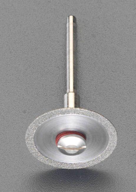 【メーカー在庫あり】 エスコ ESCO 25x0.6mm ダイヤモンドカッター 3mm軸 000012081101 JP店
