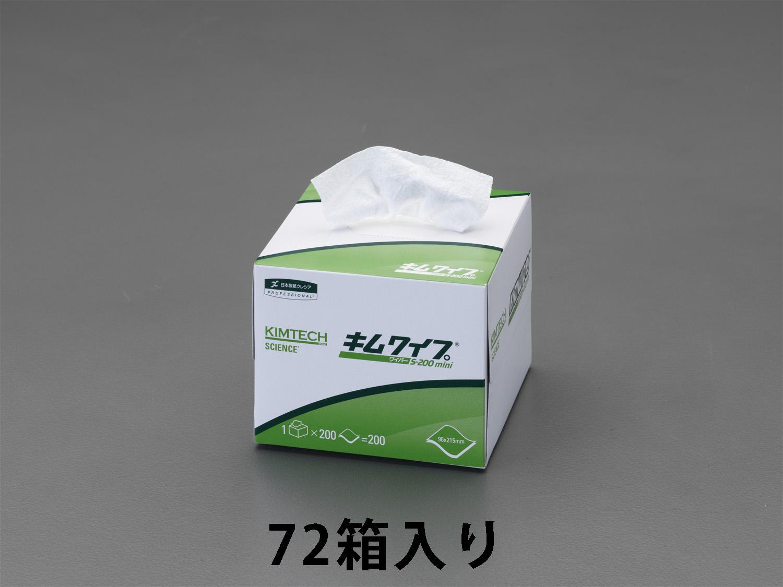 【メーカー在庫あり】 エスコ ESCO 96x215mm 工業用ペーパータオル 72箱 000012257895 JP店