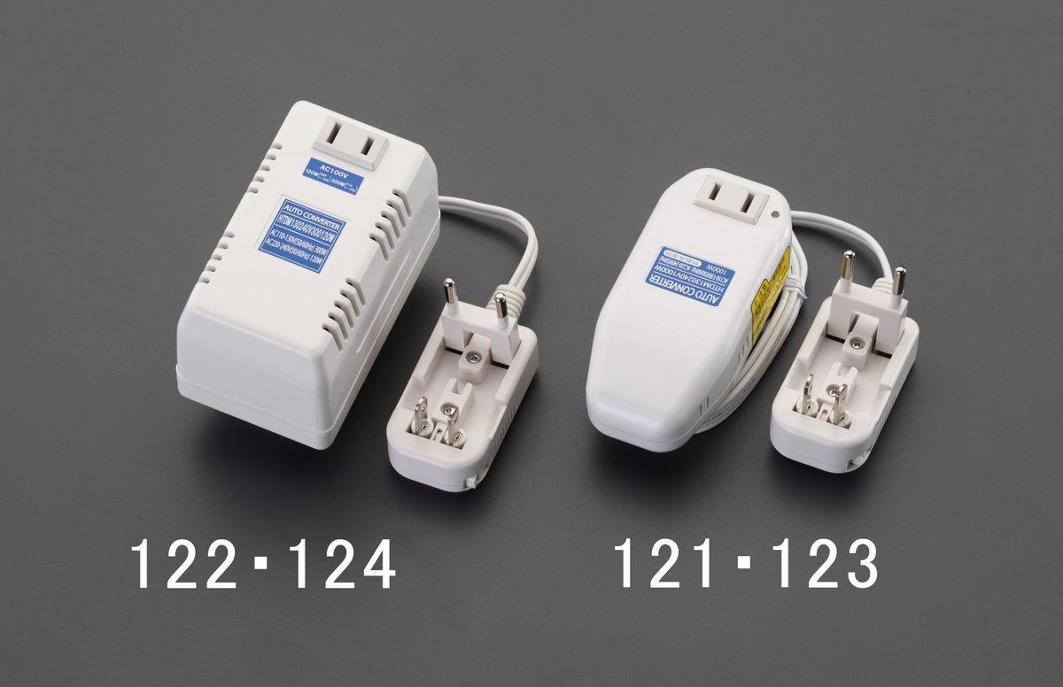 【メーカー在庫あり】 エスコ ESCO AC240V/ 120W 海外用マルチプラグ変圧器 000012262010 JP店