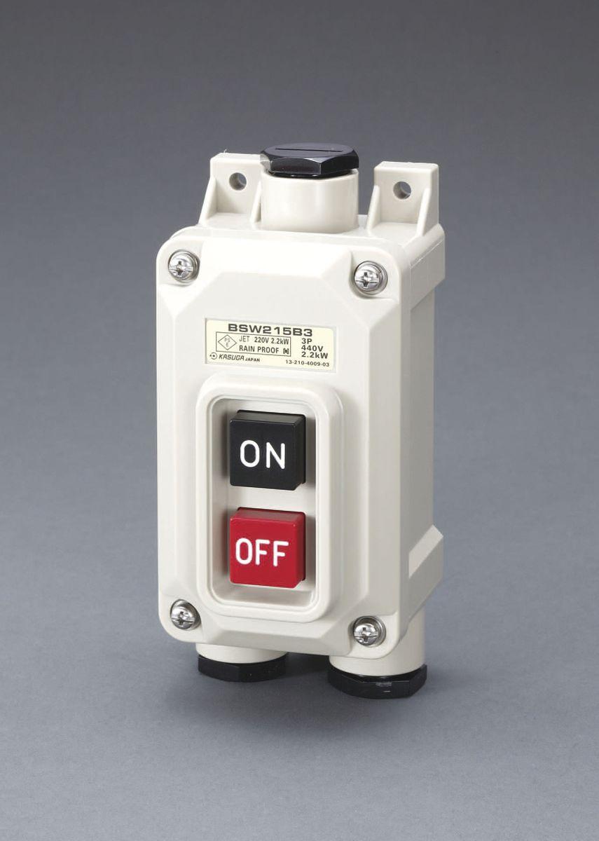 【メーカー在庫あり】 エスコ ESCO 30A/3P三相 押しボタン開閉器 一般防雨形 000012230868 JP店