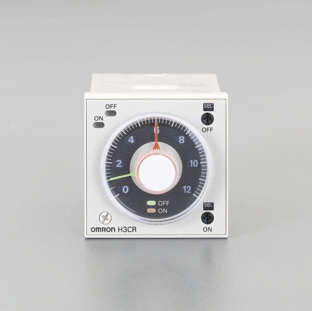 【メーカー在庫あり】 エスコ ESCO AC100-240V ツインタイマー 8ピン 000012230949 JP店