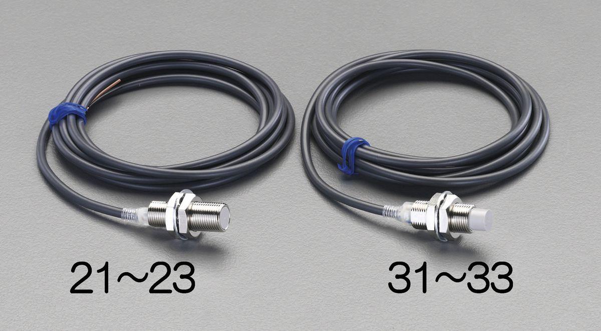 【メーカー在庫あり】 エスコ ESCO M30/直流3線 近接センサー 18mm・非シールド 000012230976 JP店