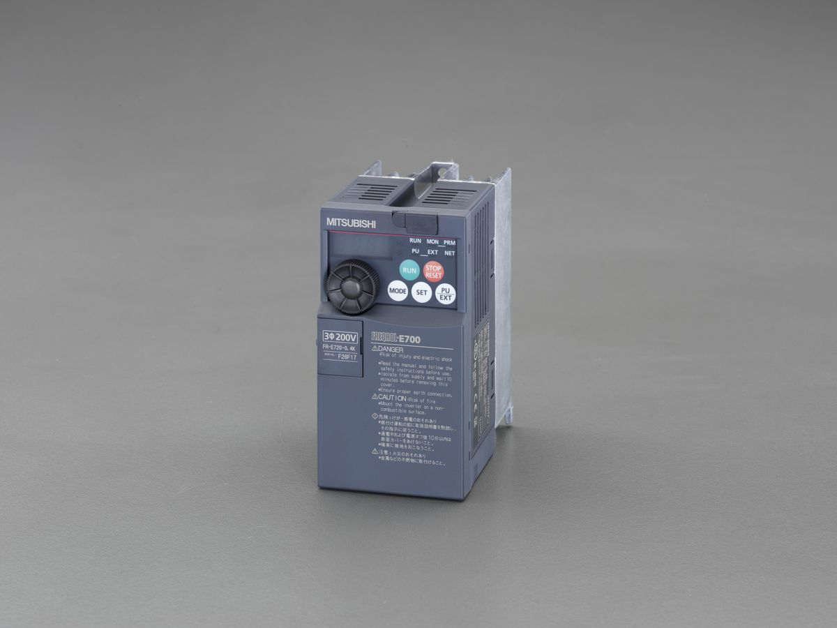 エスコ ESCO 200V/2.2 kw インバーター 3相モーター用 000012252727 JP店