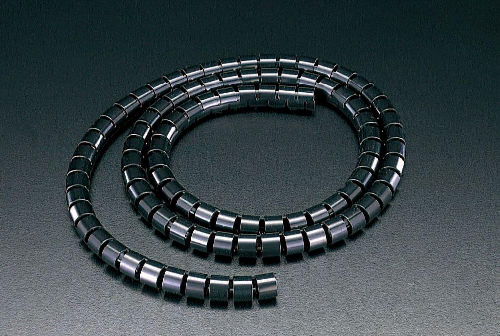 【メーカー在庫あり】 エスコ ESCO 15mmx 50m スリットチューブ 黒 000012257522 JP店