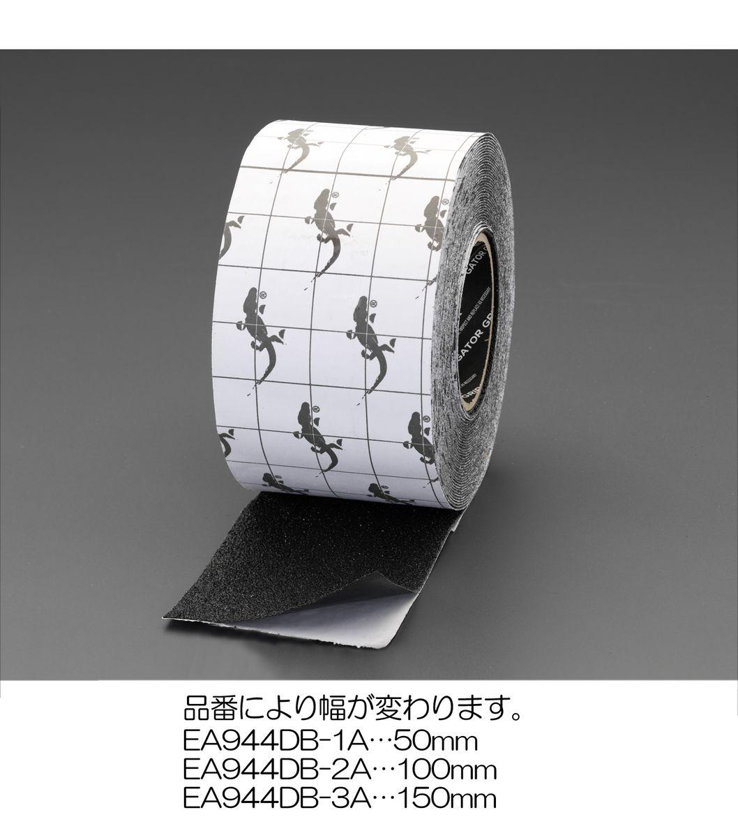 【メーカー在庫あり】 エスコ ESCO 100mmx15.2m 滑り止めテープ 強力/黒 000012246836 JP店