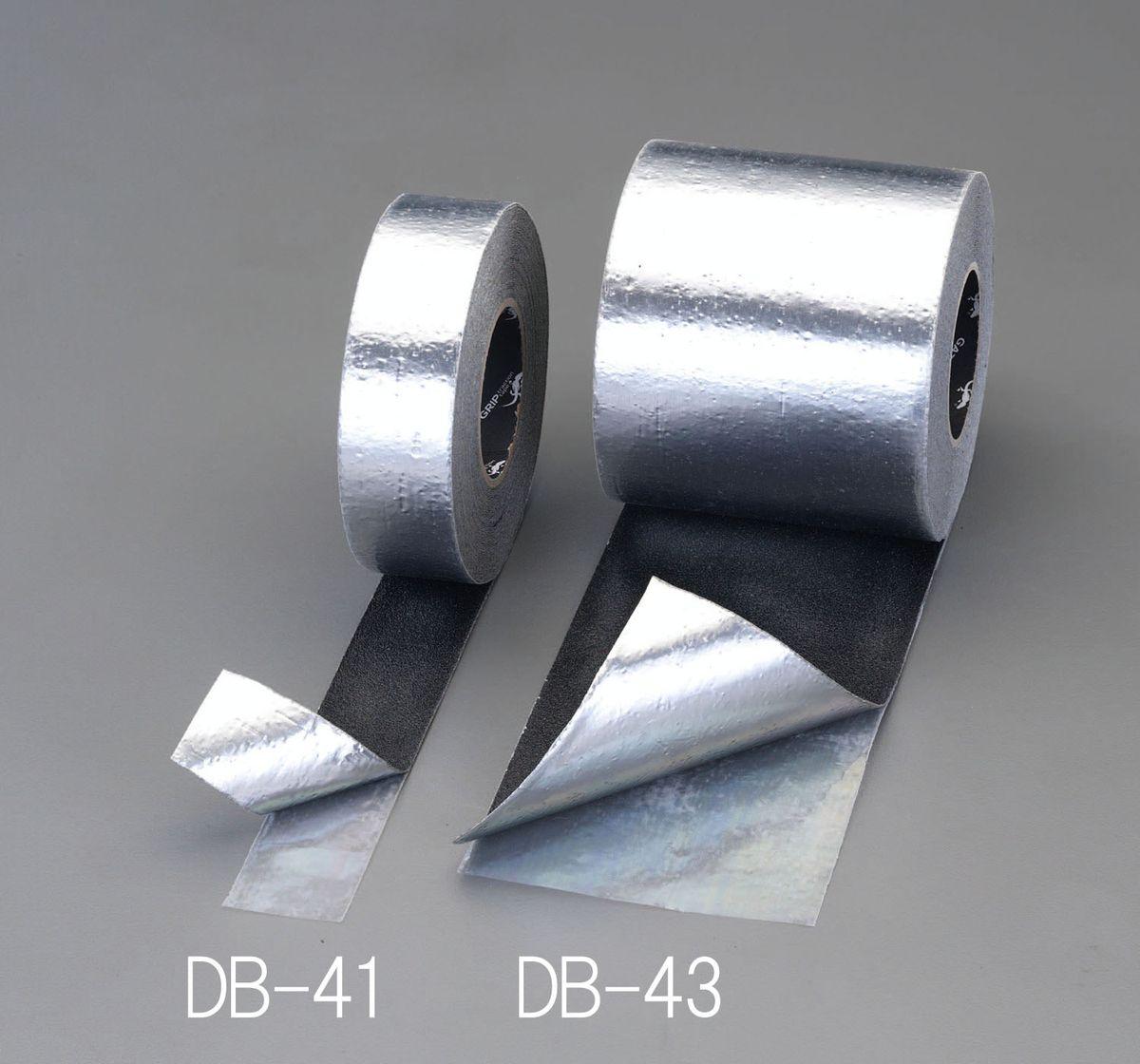 【メーカー在庫あり】 エスコ ESCO 50mmx18.3m 滑り止めテープ 裏面アルミ/黒 000012231506 JP店