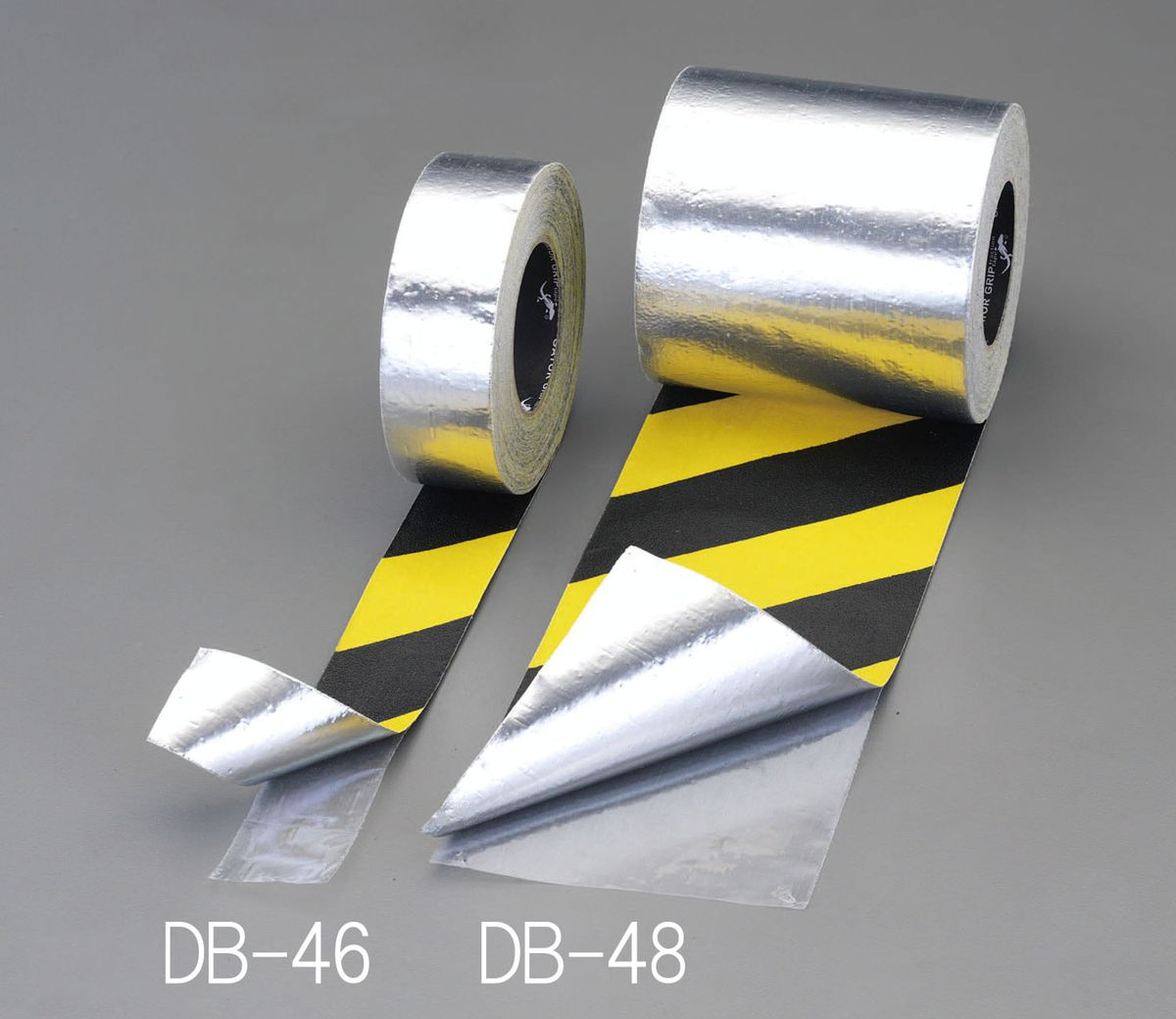 【メーカー在庫あり】 エスコ ESCO 50mmx18.3m 滑り止めテープ 裏面アルミ/トラ 000012231509 JP店