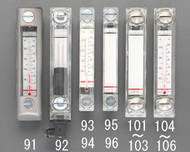 【メーカー在庫あり】 エスコ ESCO M12x254mmレベル盤付き レベルインジケーター 000012092497 JP店