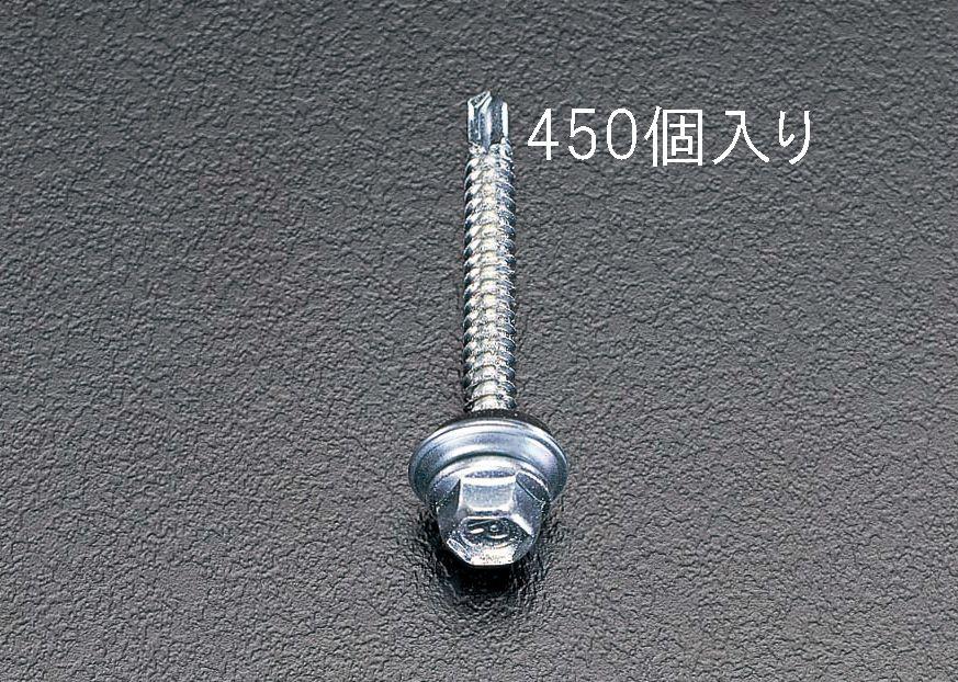 【メーカー在庫あり】 エスコ ESCO 5x35mm 六角頭ピアスビス シール付/450本 000012060328 JP店
