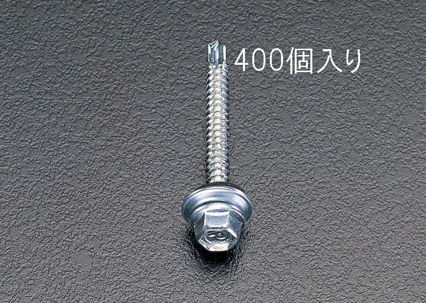 【メーカー在庫あり】 エスコ ESCO 6x19mm 六角頭ピアスビス シール付/400本 000012060330 JP店