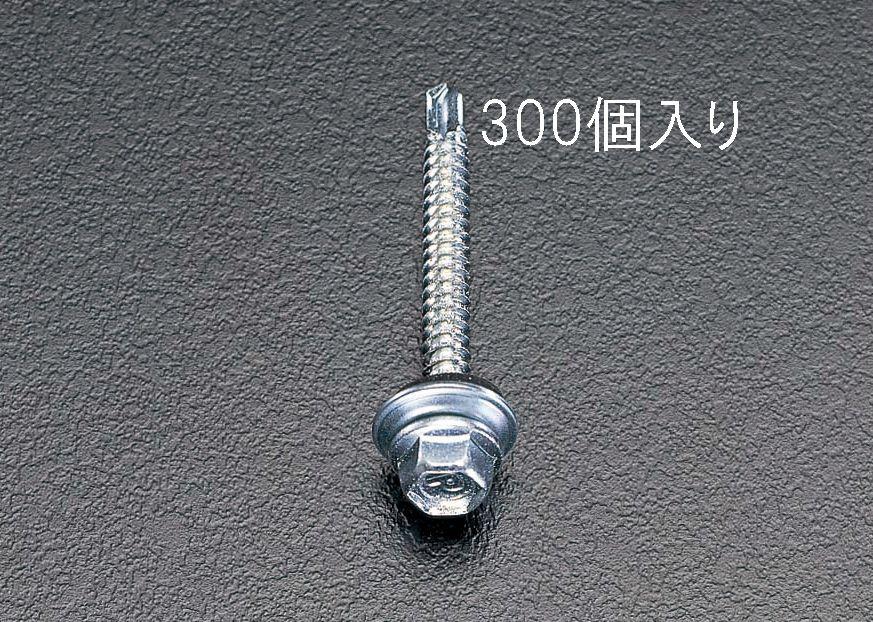 【メーカー在庫あり】 エスコ ESCO 6x25mm 六角頭ピアスビス シール付/300本 000012060331 JP店