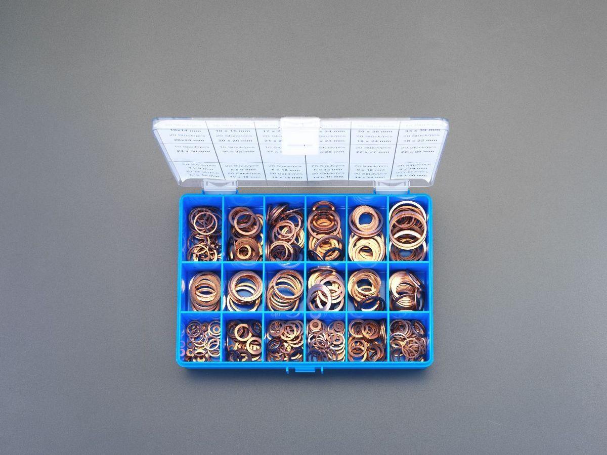 【メーカー在庫あり】 エスコ ESCO 銅パッキンセット 30サイズ 000012040633 JP店