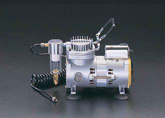 【メーカー在庫あり】 エスコ ESCO ミニエアーコンプレッサー (オイルレス) 100V/90W EA116DA JP店