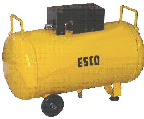 【メーカー在庫あり】 エスコ(ESCO) 38L 補助タンク(エアーコンプレッサー用) 000012045277 JP