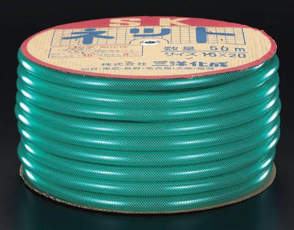 エスコ(ESCO) 18/24mm x 50m ウォーターホース(糸入り) 000012045321 JP