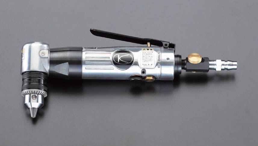 【メーカー在庫あり】 エスコ(ESCO) 10mm/1,500rpm エアードリル(アングル型) 000012025958 JP