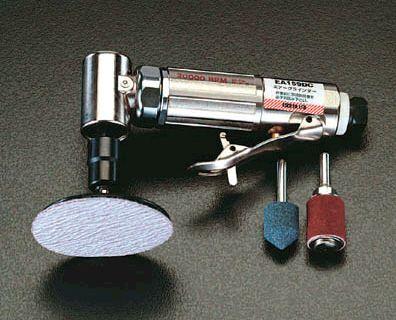 【メーカー在庫あり】 エスコ(ESCO) 20,000rpm/3mm 6mm エアーグラインダーキット(アングル) 000012006700 JP