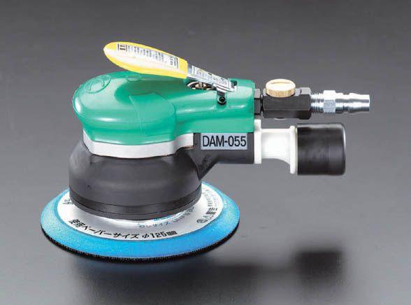 【メーカー在庫あり】 エスコ(ESCO) 9,500rpm/125mm デュアルアクションエアーサンダー 000012001820 JP