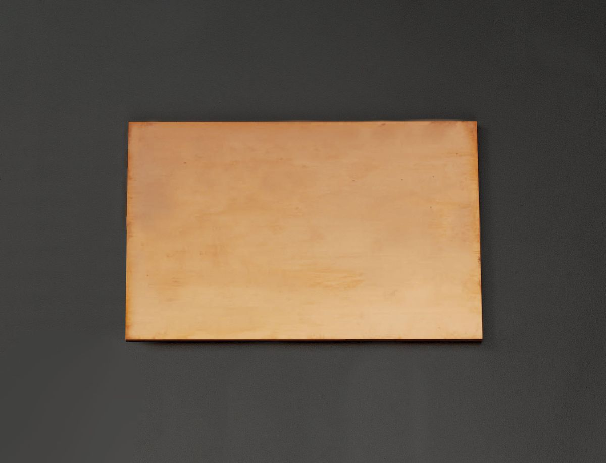 【メーカー在庫あり】 エスコ ESCO 600x300x 5.0mm 銅板 000012219993 JP