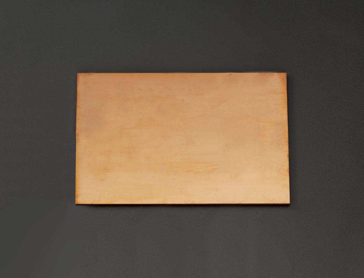 【メーカー在庫あり】 エスコ ESCO 300x300x 8.0mm 銅板 000012220003 JP