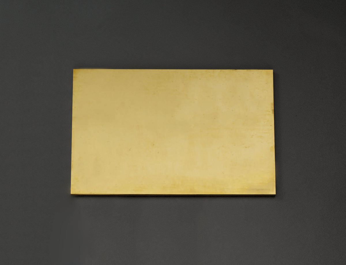 【メーカー在庫あり】 エスコ ESCO 300x300x10.0mm 黄銅板 000012220007 JP