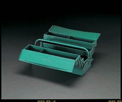 【メーカー在庫あり】 エスコ ESCO 530x200x200mm 工具箱(スティール製) 000012030804 JP