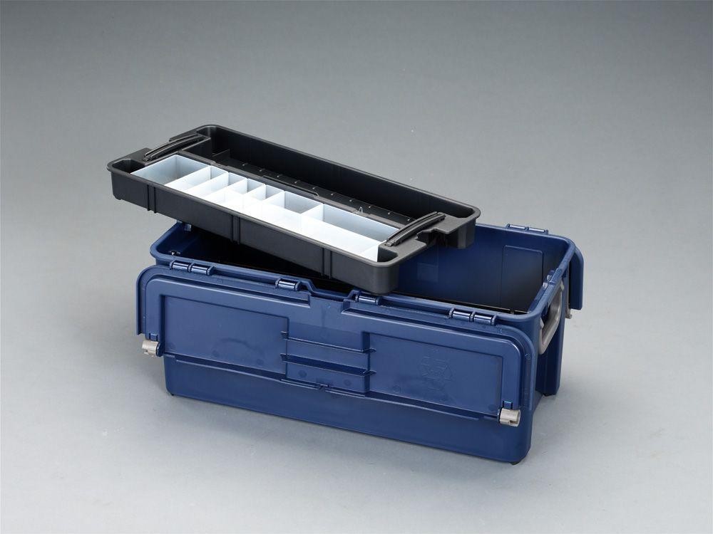 訳�り メーカー在庫�り エスコ ESCO 620x315x260mm Seasonal Wrap入� 中皿付 工具箱 JP 000012030405