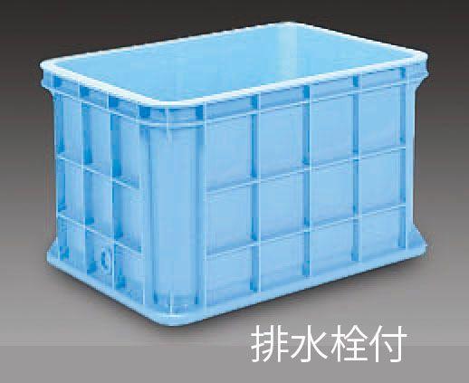 【メーカー在庫あり】 エスコ ESCO 883x642x517mm/ 211L コンテナ(排水栓付) 000012085231 JP