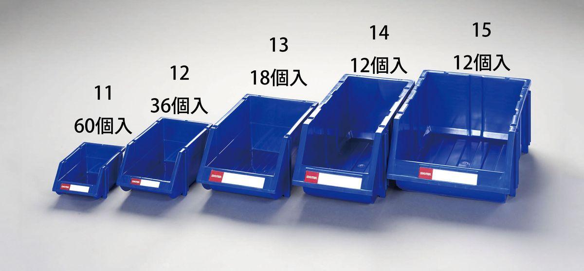 【メーカー在庫あり】 エスコ ESCO 205x480x178mmパーツトレー(重ね置型/12個) 000012252051 JP店