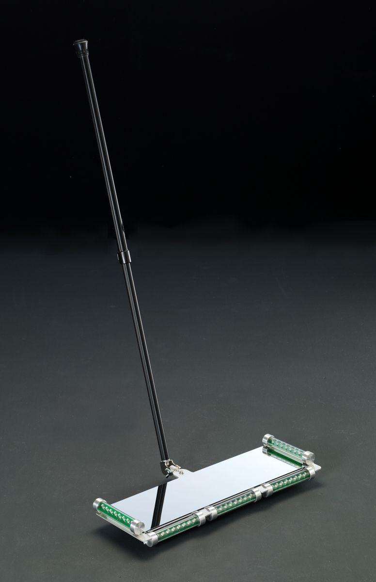 エスコ ESCO 150x490mm 点検ミラー(ステンレス LEDライト キャスタ付 000012200032 JP店